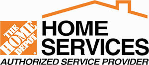 home depot home services authorized service provider