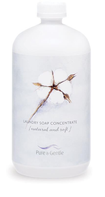 anti allergen laundry detergent bottle product image