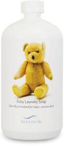 baby care laundry soap bottle product image