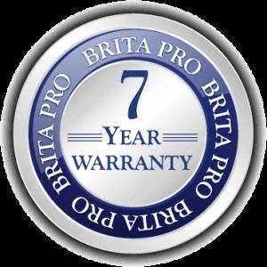 brita pro 7 year warranty icon badge