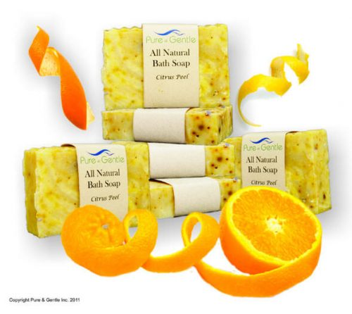 citrus peel oranges soap product image