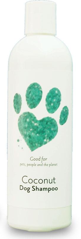 coconut dog shampoo bottle product image