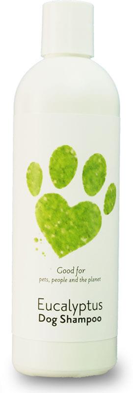 eucalyptus dog shampoo bottle product image