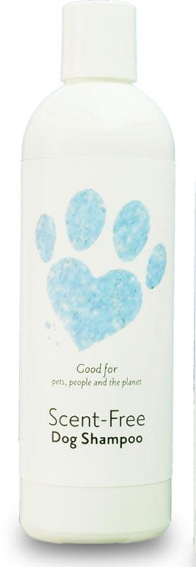 scent free dog shampoo bottle product image