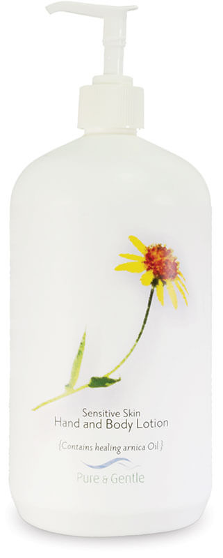 sensitive skin lotion bottle product image