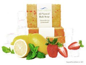 strawberry lemonade lemon with soap product image