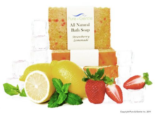 strawberry lemonade lemon with soap product image
