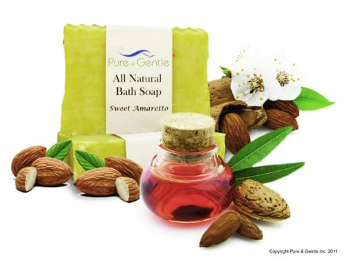 sweet amaretto hazelnut soap product image