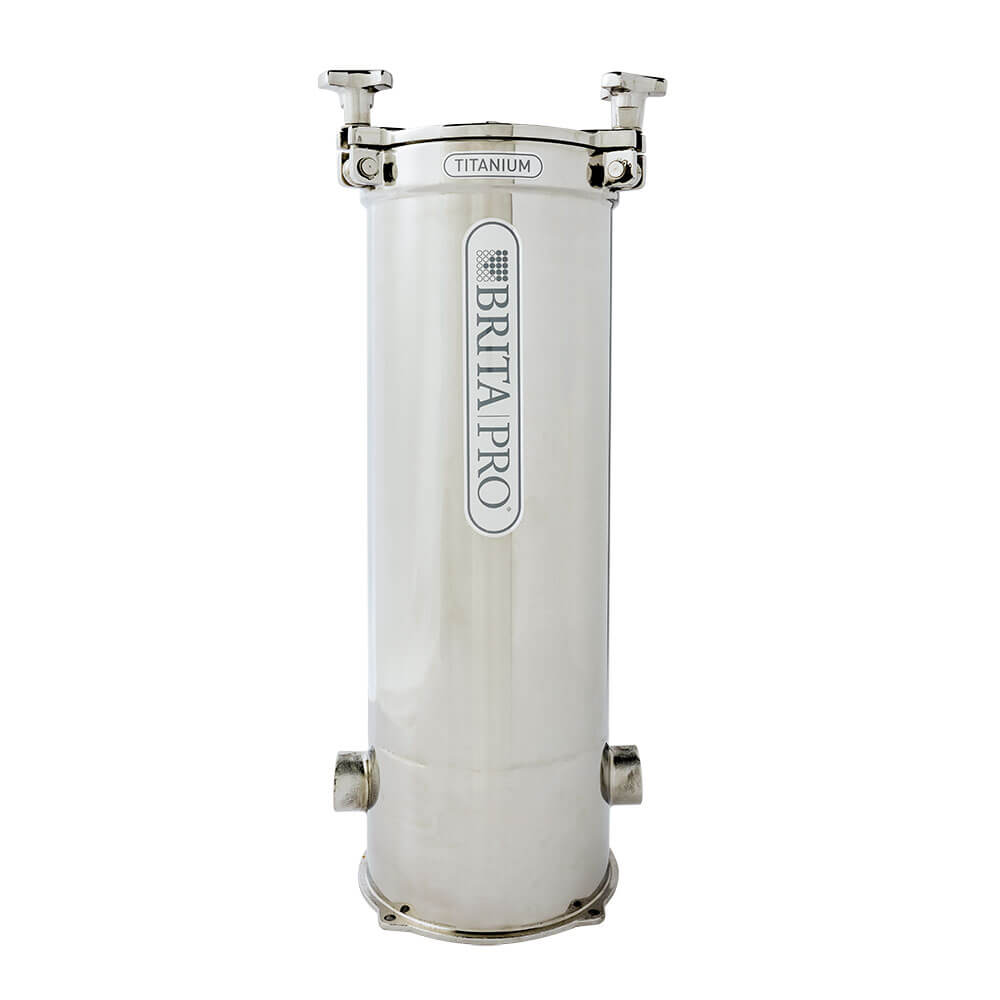brita pro titanium reduces lead water filter front