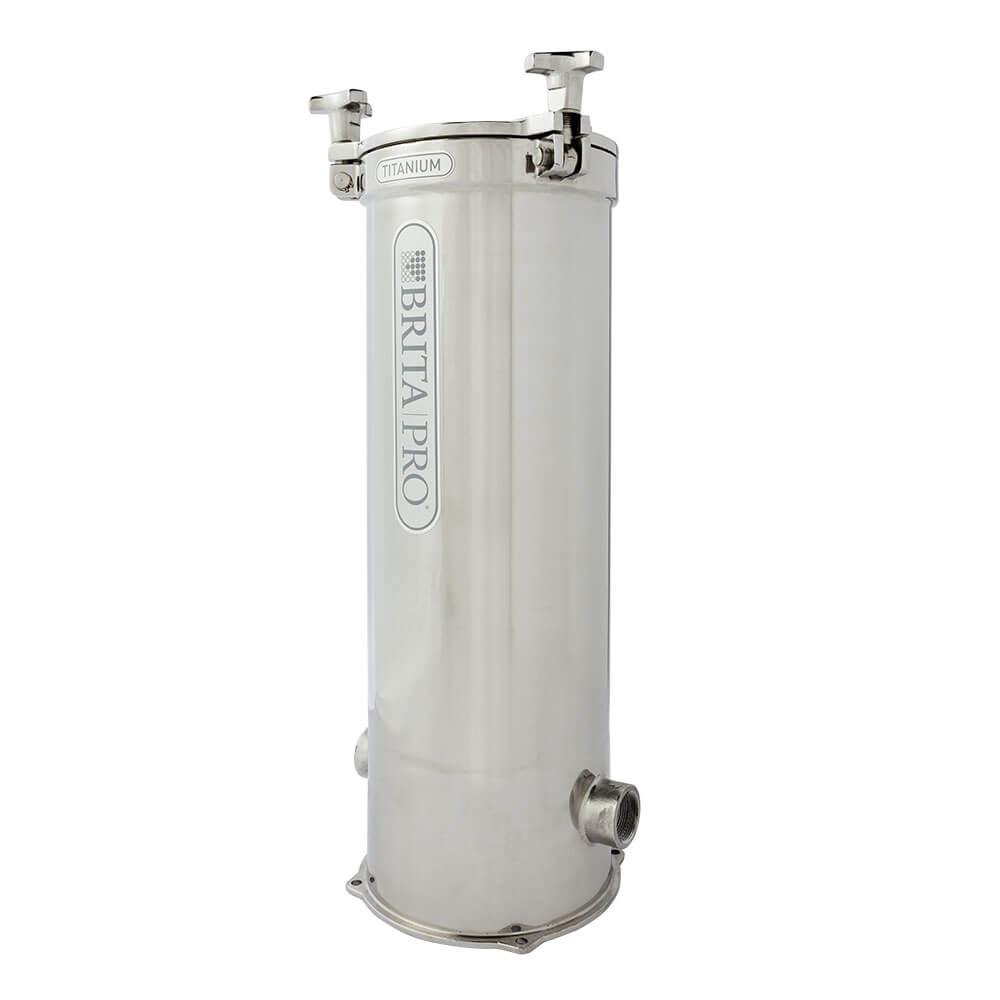 brita pro titanium reduces lead water filter left