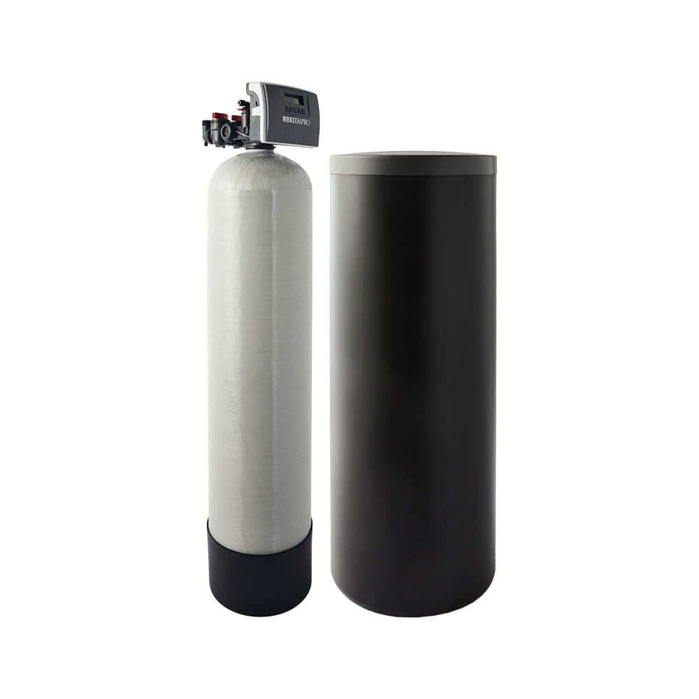 brita pro softener with brine tank filter reduces hardness without jacket right