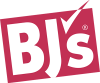 bjs wholesale club transparent logo red tilted