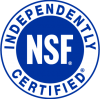 brita pro nsf independently certified icon badge
